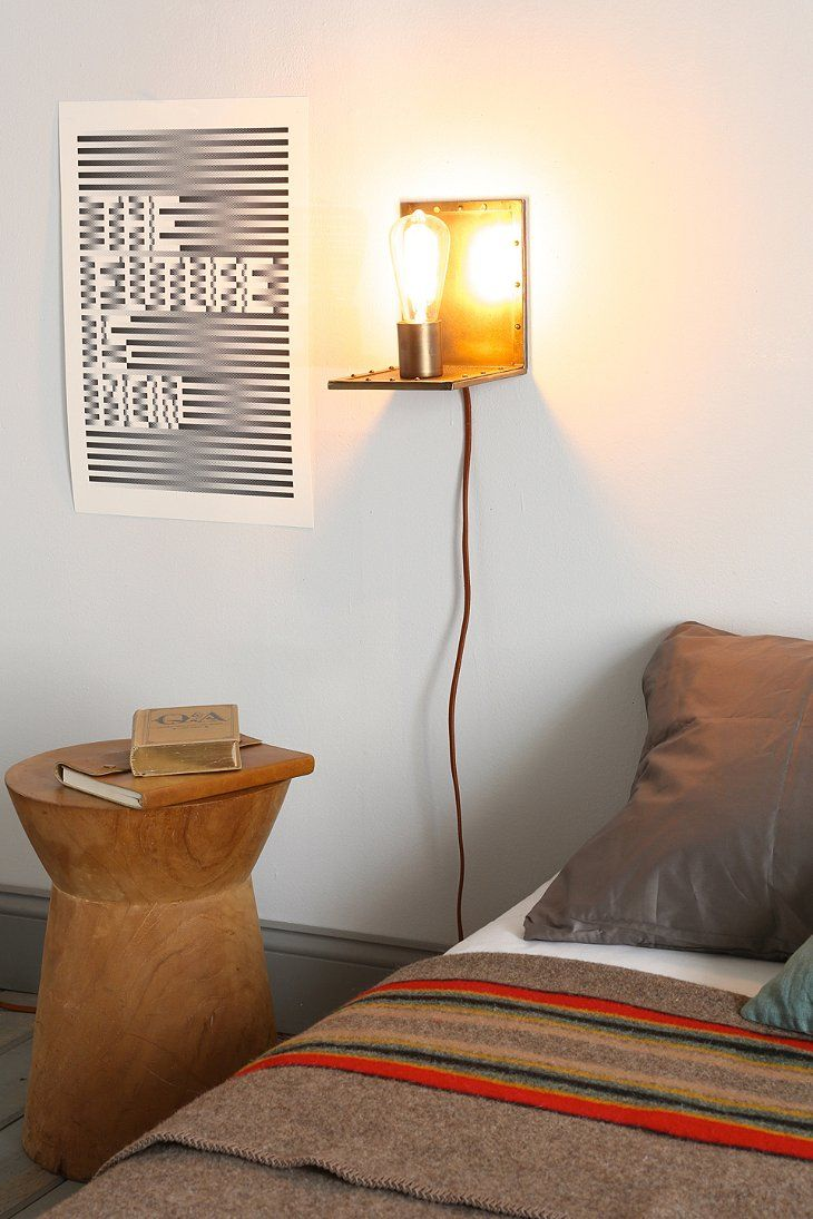 Angled Wall Lamp - Urban Outfitters