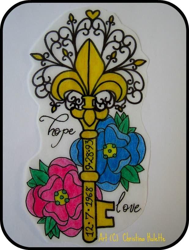 tattoosfleur de lis | Fleur De Lis Tattoo - LiLz.eu - Tattoo DE