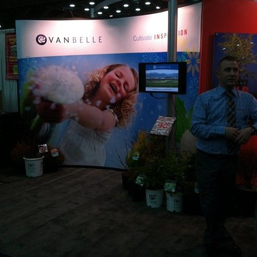 At the MANTS show in Baltimore: shared by @jchapstk : Found them. #mants13 #gardenchat Van Belle
