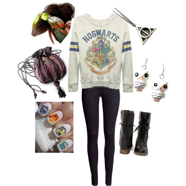 """Potter Head"" by poisonz on Polyvore"