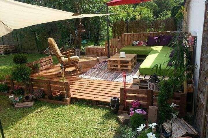 Arredare Giardino Con I Bancali Mobili Da Giardino Pallet