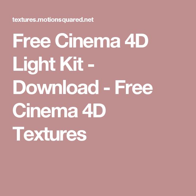 Cinema 4D Light Kit - Transform Cinema 4D Into A Powerful