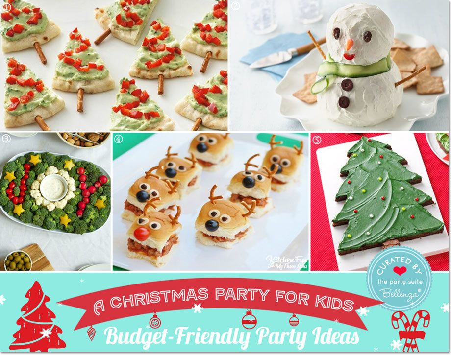Christmas Food Party Ideas Part - 17: Budget-friendly Kids Christmas Foods // Party Guide Featured By Bellenza