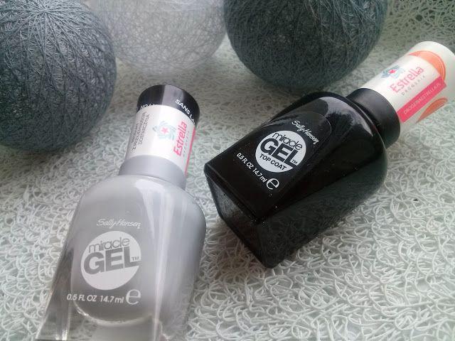 sally hansen gel bożonarodzeniowy projekt zdobienia paznokci nail art hearts