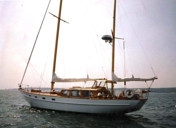 1964 Alden  Lady Helene  Custom Ketch Sail Boat For Sale   www yachtworld. 1933 William Hand motorsailer Power Boat For Sale   www yachtworld