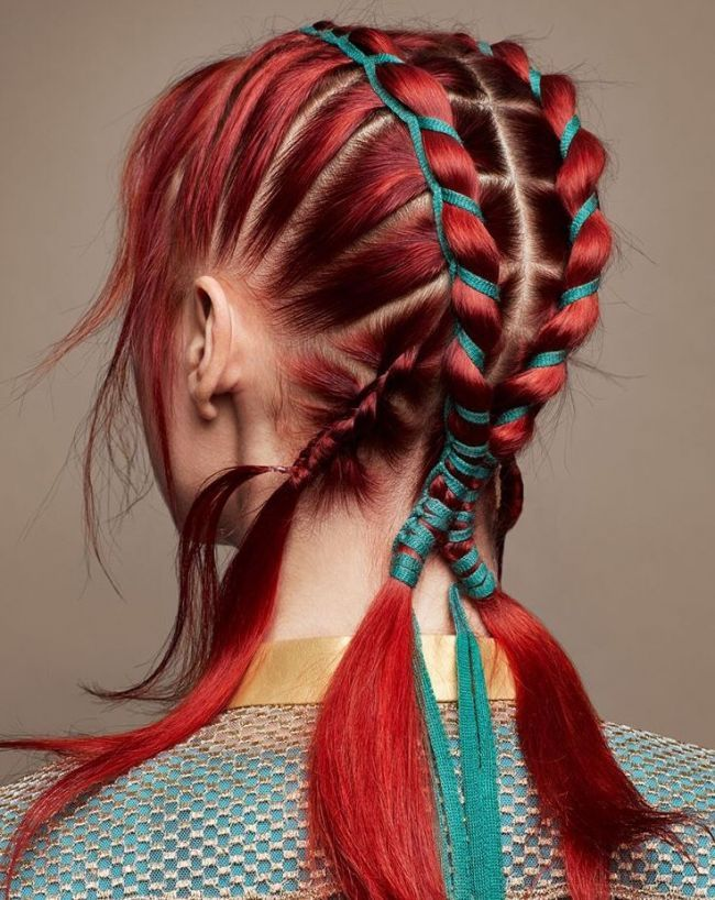 best beautiful and cutest mermaid hairstyle design hair color for halloween prom lovely pinterest styles also rh
