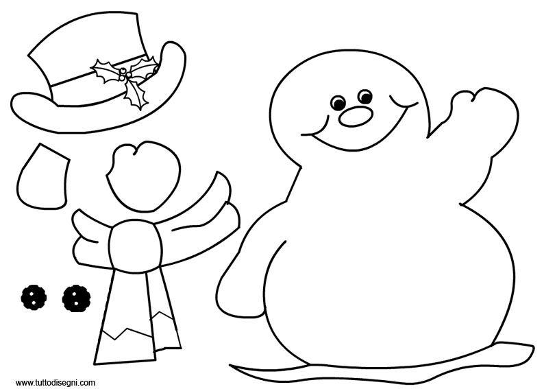 Pin Di Cristina Senica Su Inverno Pupazzo Di Neve Natale E Neve