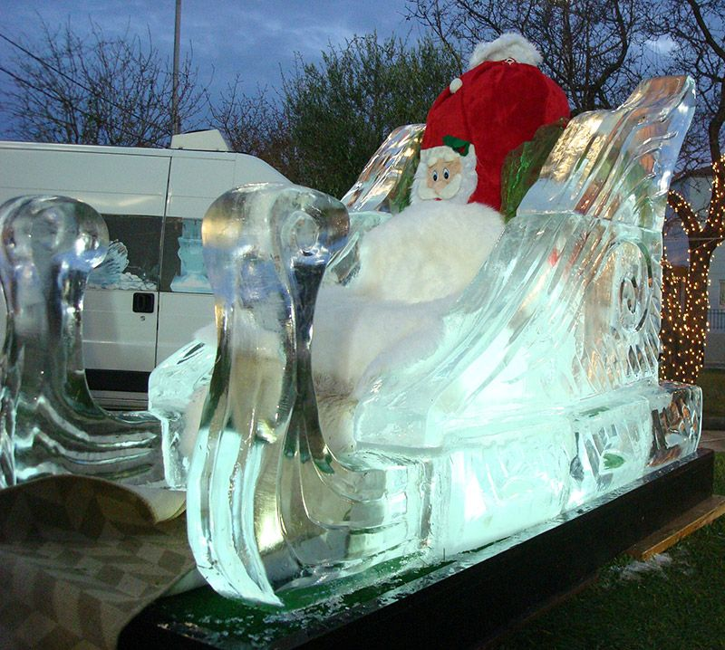 Small job ideas in the mass production of ice sculptures