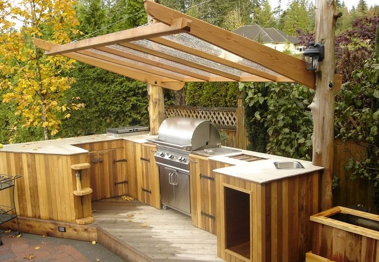simples-consejos-cocinas-exteriores-madera QWE Pinterest