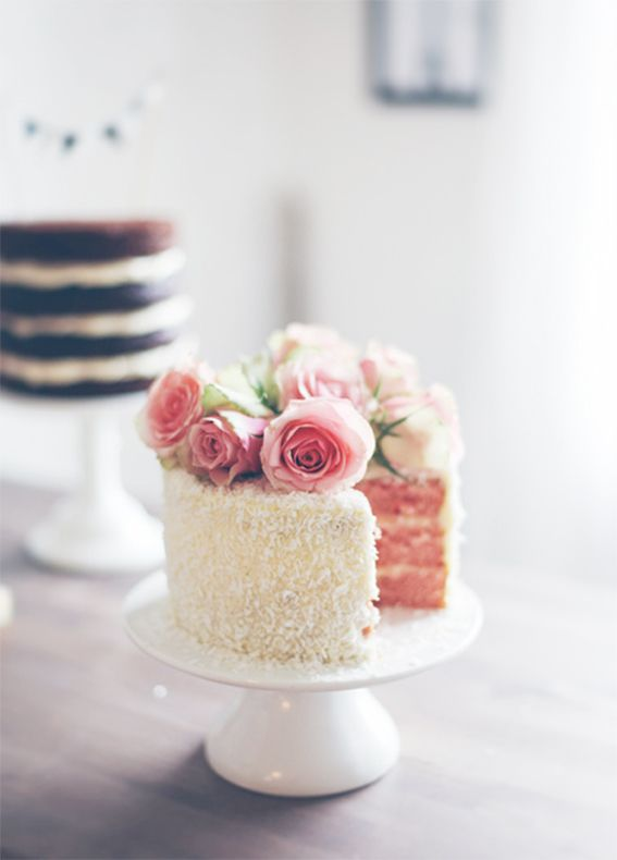 how to make a rose cake topper