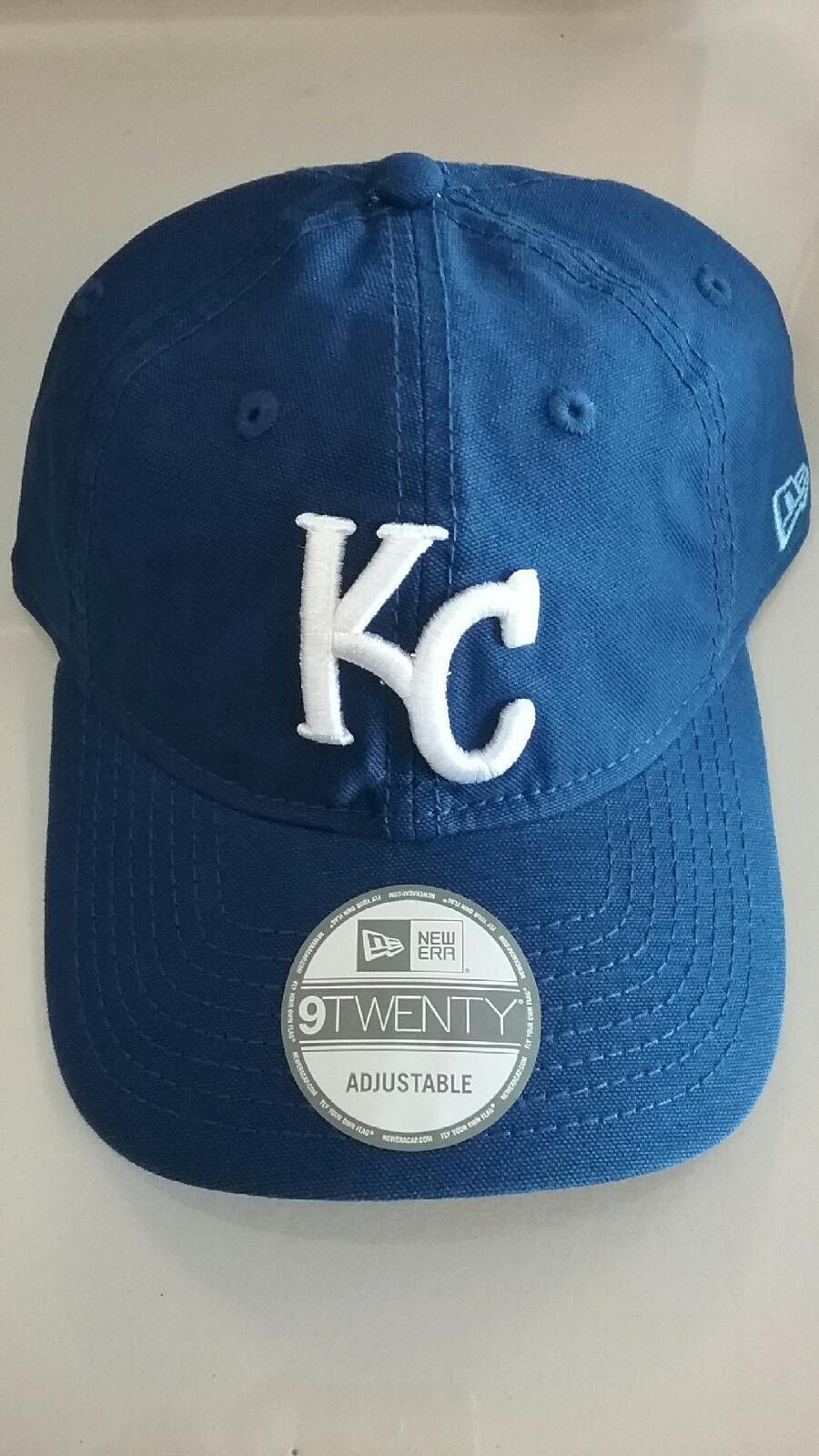 Kansas City Royals Core Shore Primary Adjustable 9TWENTY Hat by New Era