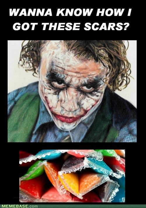 Definitely One Of My Biggest Fears True Joker Heath Ledger Heath