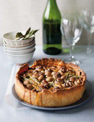 Maalvleis Quiche Met Komyngeur Sampioene Sarie Food Recipes Cooking Recipes