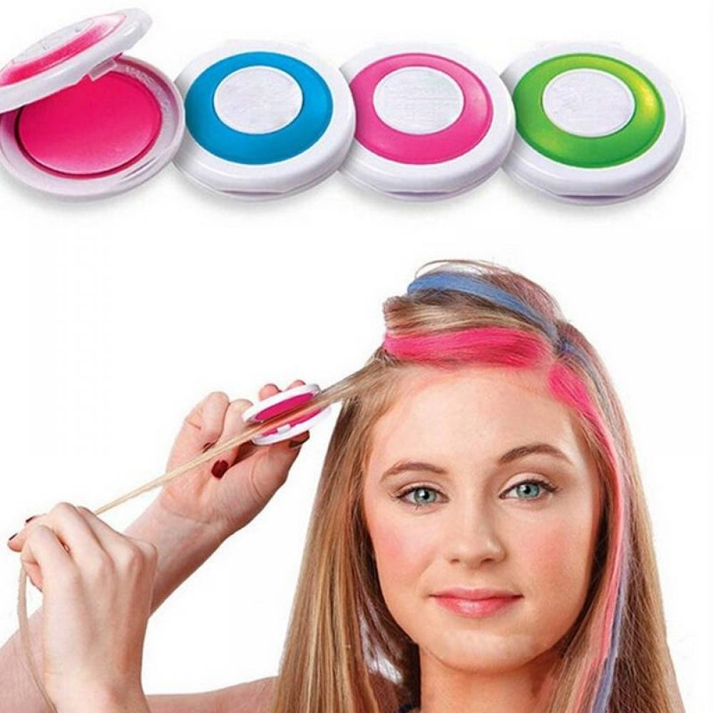 Temporary Hair Chalk Powder 7.95 and FREE Shipping Tag a friend who would love this! Active link in...