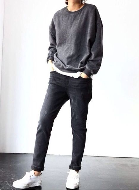 #style #fashion #casual #unisex #outfit #urbanlook