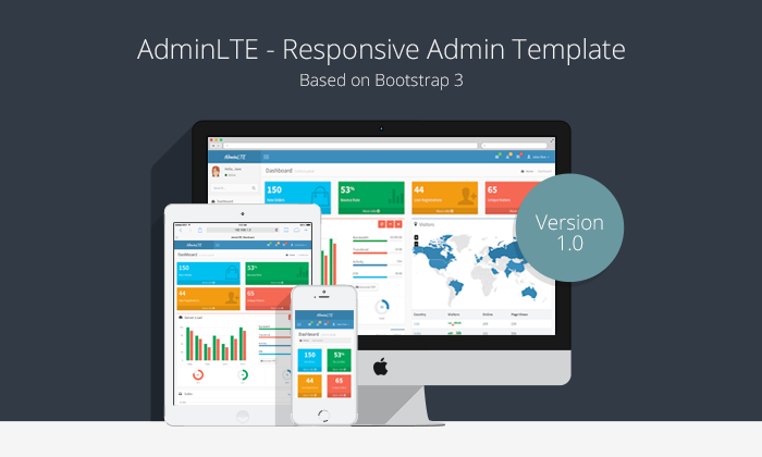 AdminLTE -- Free admin template based on bootstrap 3 | Bootstrap