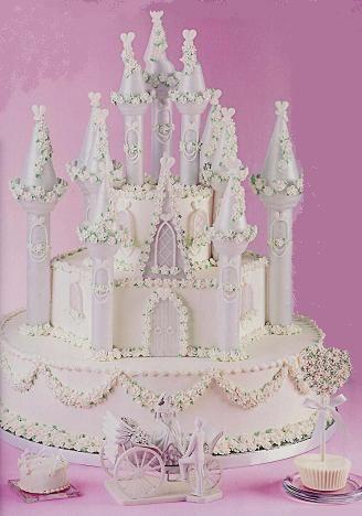 Wedding Cakes - Castle wedding cake from http://black-wedding.net/