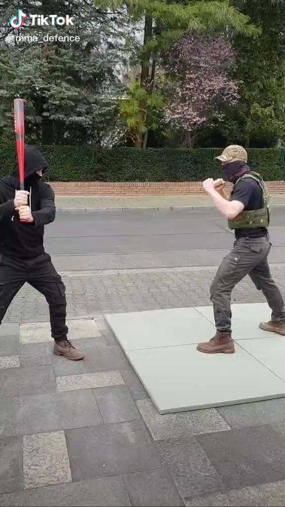 Martial Arts Self Defense-Defense against Baseball
