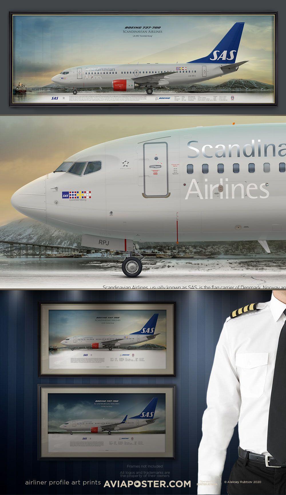 Boeing 737 700 Scandinavian Airlines Di 2020