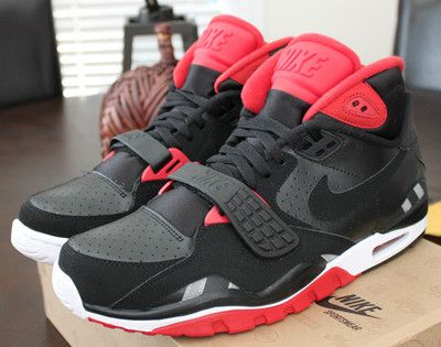 big sale 52280 46b98 NIKE Air Trainer SC II sz 14 Bo Jackson Retro Trainer Black Black Red