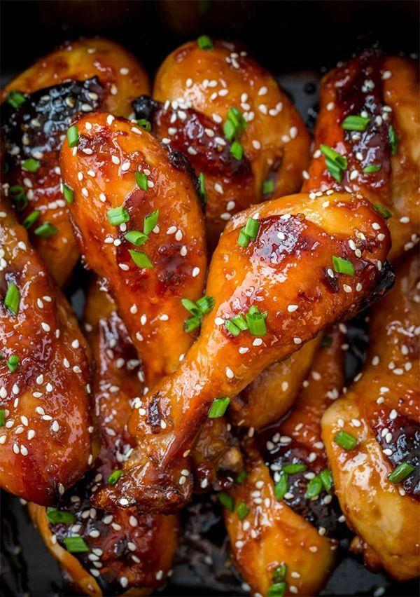 Рецепт запеченных куриных ножек