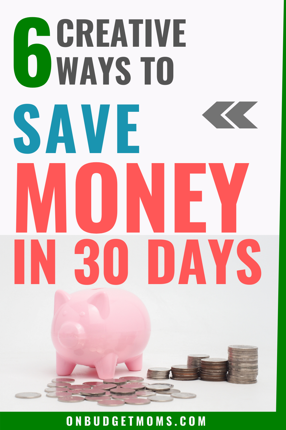 Saving money in a short amount of time is possible even if you are on a tight budget. The trick is to make more money that isn't already included in your budget. This money can then be used for your savings! #savemoney #moneysavers #howtosavemoney #savingtips