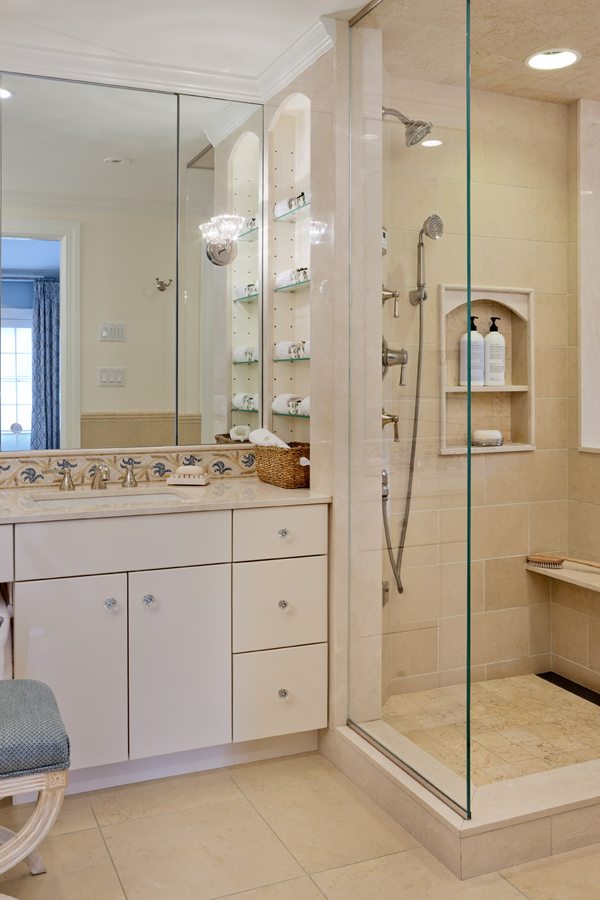 Wilson Kelsey Design Dismantled A Dark Enclosed Shower And