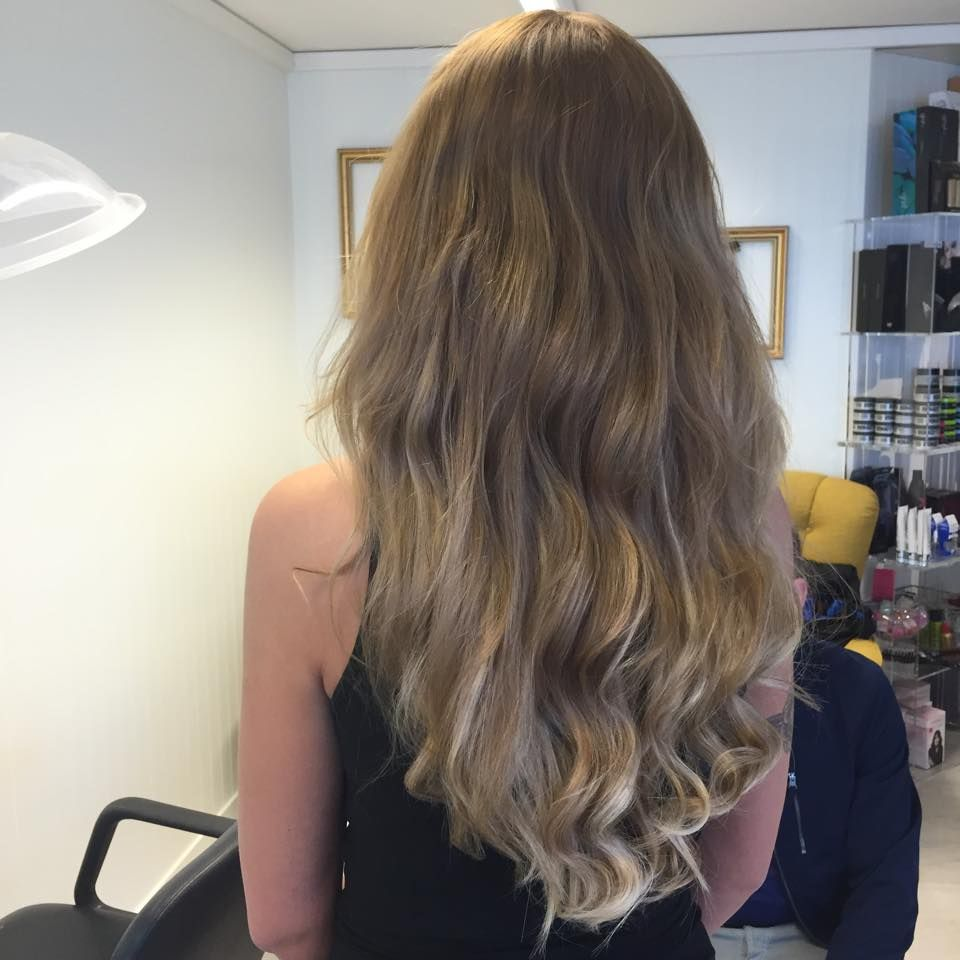 New Hair Extensions Tape In 45 Cm Higlights And Ombre Phoenix