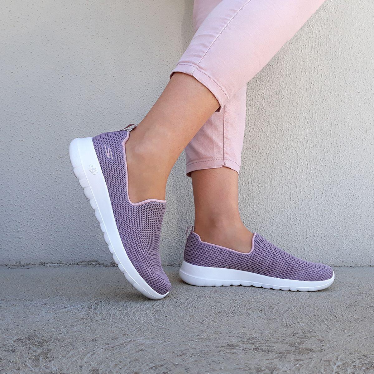 Women's Skechers GOwalk Joy Centerpiece Slip On Walking Shoe