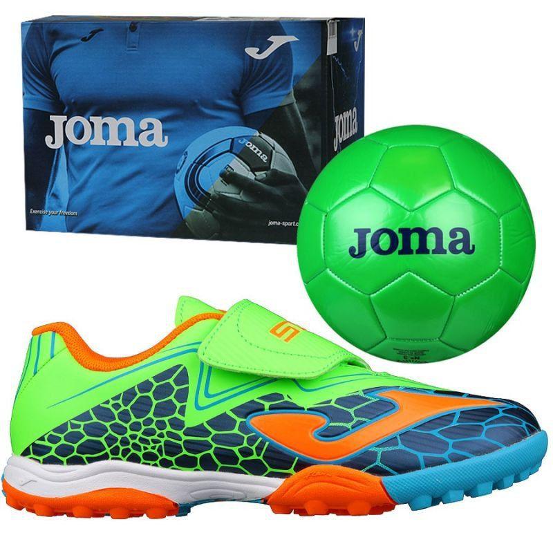Buty Pilkarskie Joma Super Copa Tf Jr Scjs 804 Tf Zielone Zielone Football Boots Joma Football Shoes
