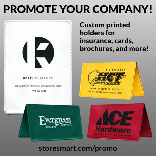 Promote Your Company With Our Printed Holders Request A Free
