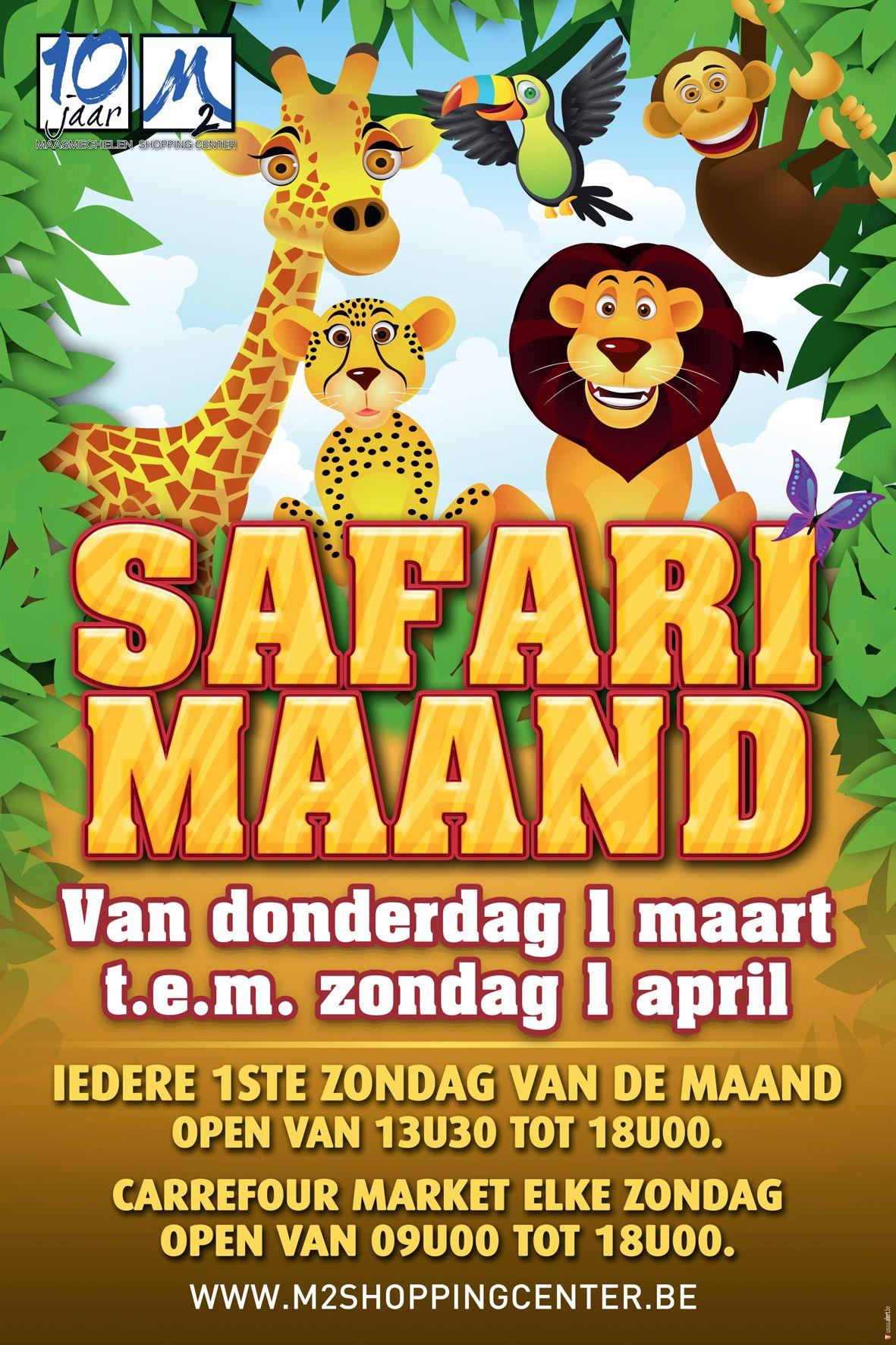Safari Maand www.twitter.com/m2shopping