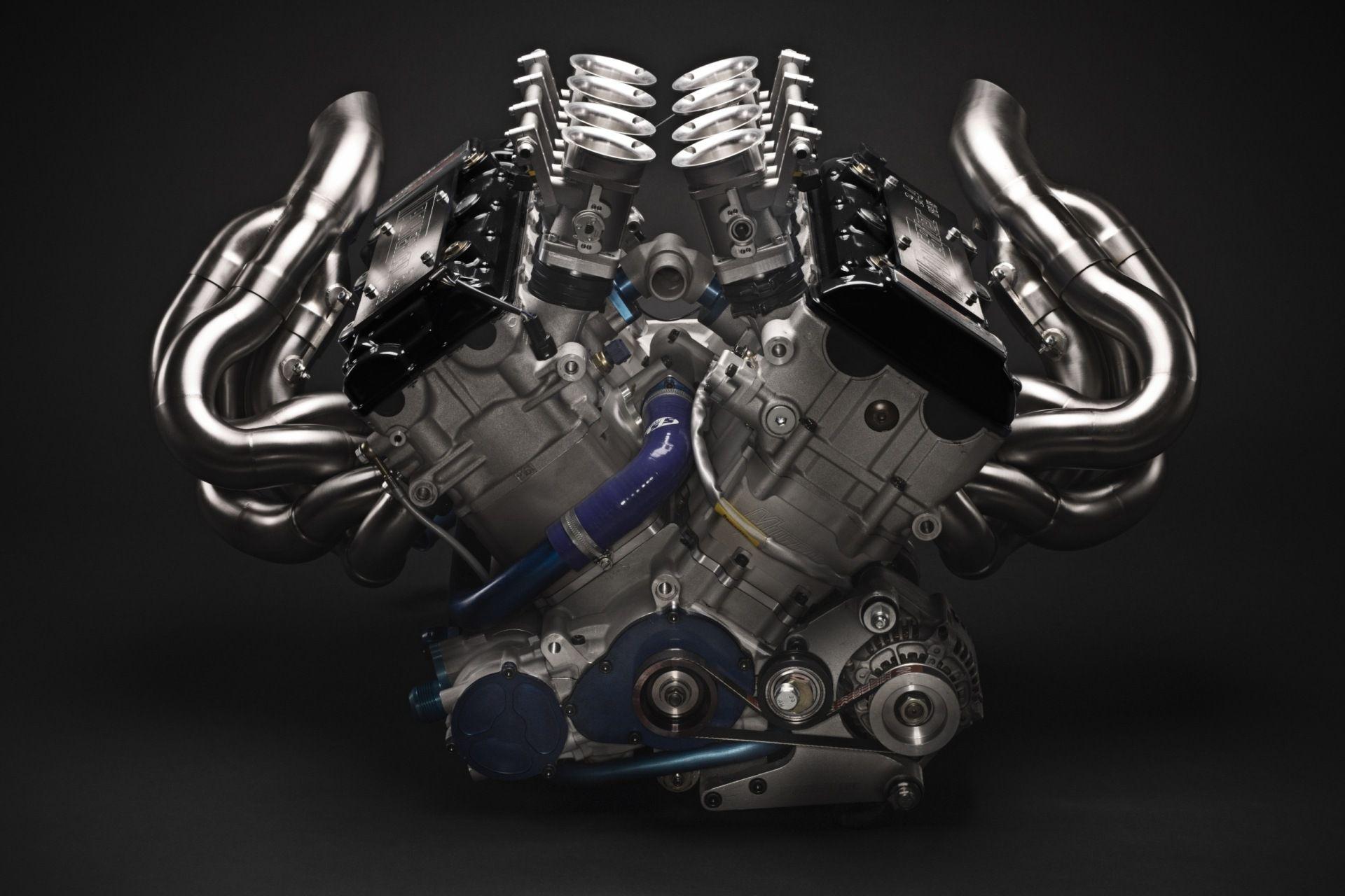 Radical Sportscars / UK / Engines... A dry sump V8 built using a ...