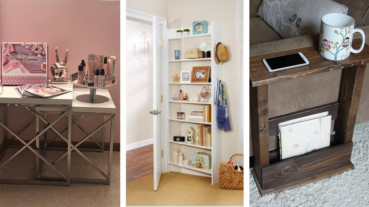 23 Super Smart Living Room Storage Ideas YouTube in 2020