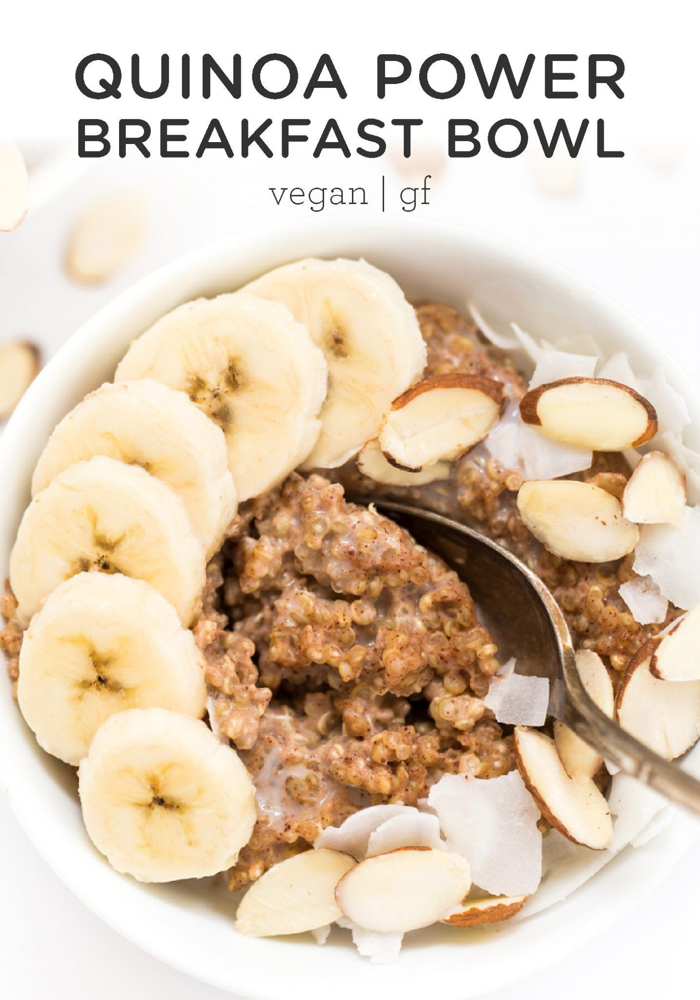 Quinoa Power Breakfast Bowls - Simply Quinoa -  Kick start your day with these healthy Quinoa Power