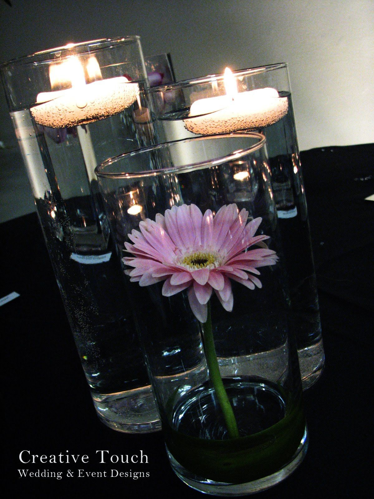 Creative Touch Wedding Designs: Elegance Decor Pkg Centerpiece Samples