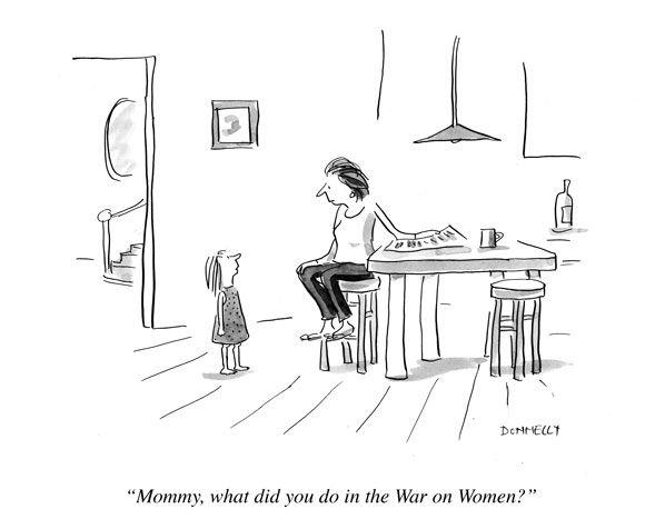 Mommy War Cartoon Moms Clean Air Force Mommy Wars Cartoon Mom Women