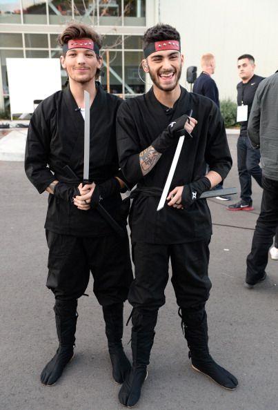 Louis makes a for one sexy samurai!!!