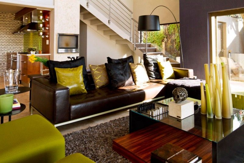African Living Room Designs Beauteous South African Home Gets A Ravishing Revamp From Nico Van Der Design Decoration