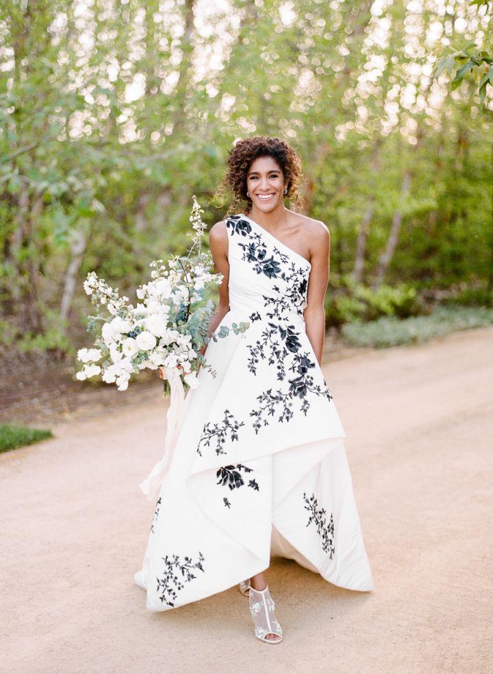 Ultra Romantic Floral Wedding Dresses Patterned Wedding Dresses