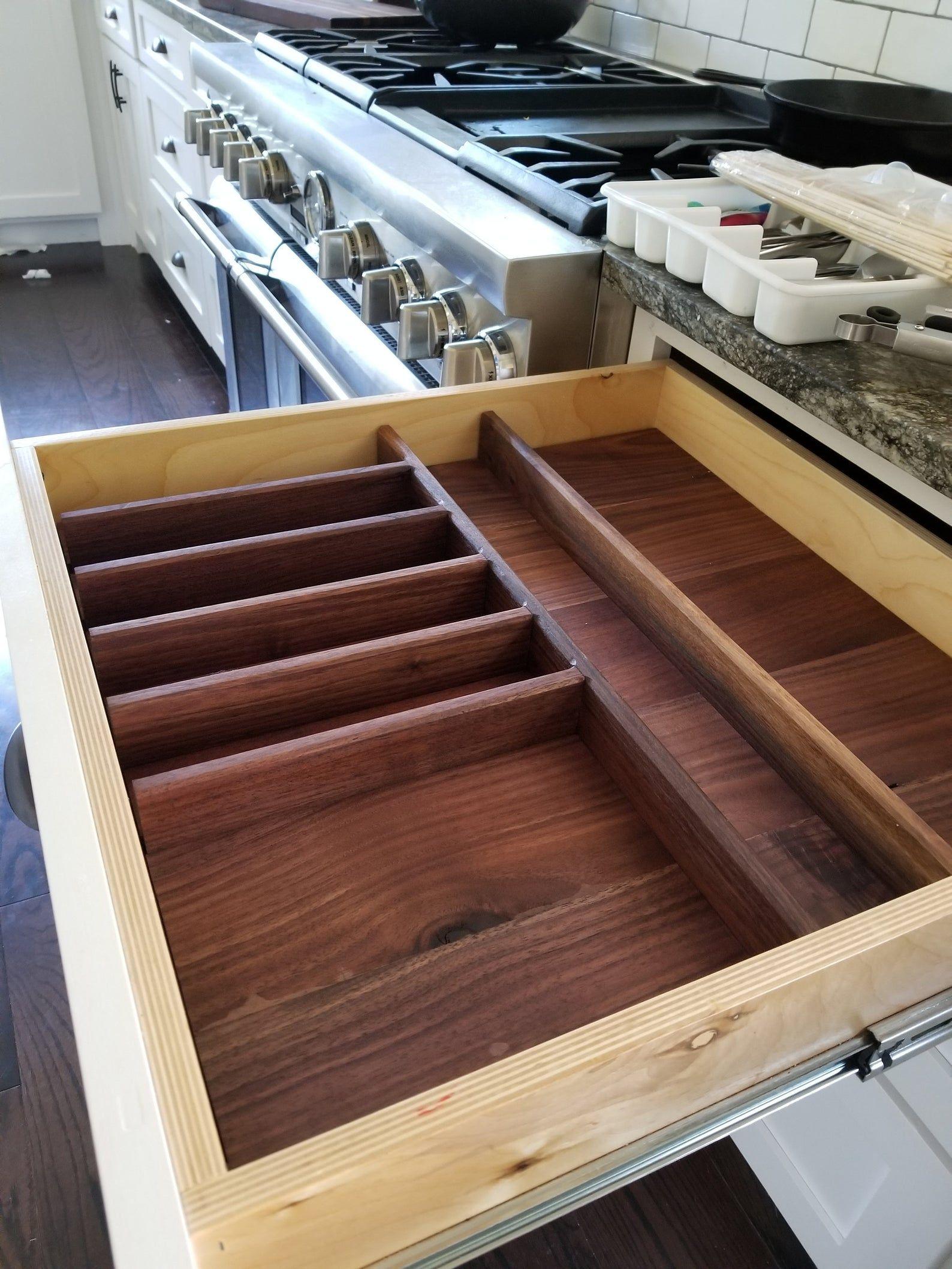 Kitchen Drawer Organizer, Office drawer Organizer, Custom