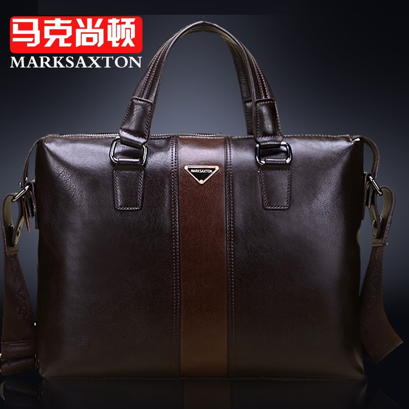 61.50$  Buy now - http://alik4b.worldwells.pw/go.php?t=1616758996 - New Arrival 2016 cowhide fashion commercial horizontal handbag, men messenger bag genuine leather men briefcase, laptop bag