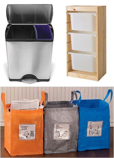 How To Set Up A Home Recycling Station That Works Organization