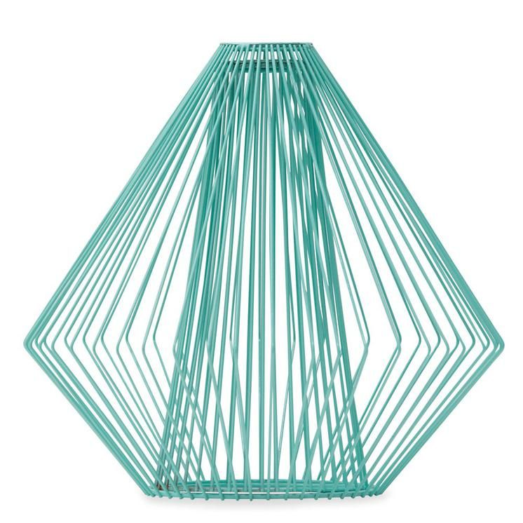 Mint wire light shade worthynzhomeware wwworthy spiral mint wire light shade worthynzhomeware wwworthy greentooth Images