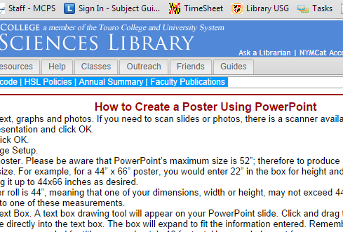 how to make a medical poster