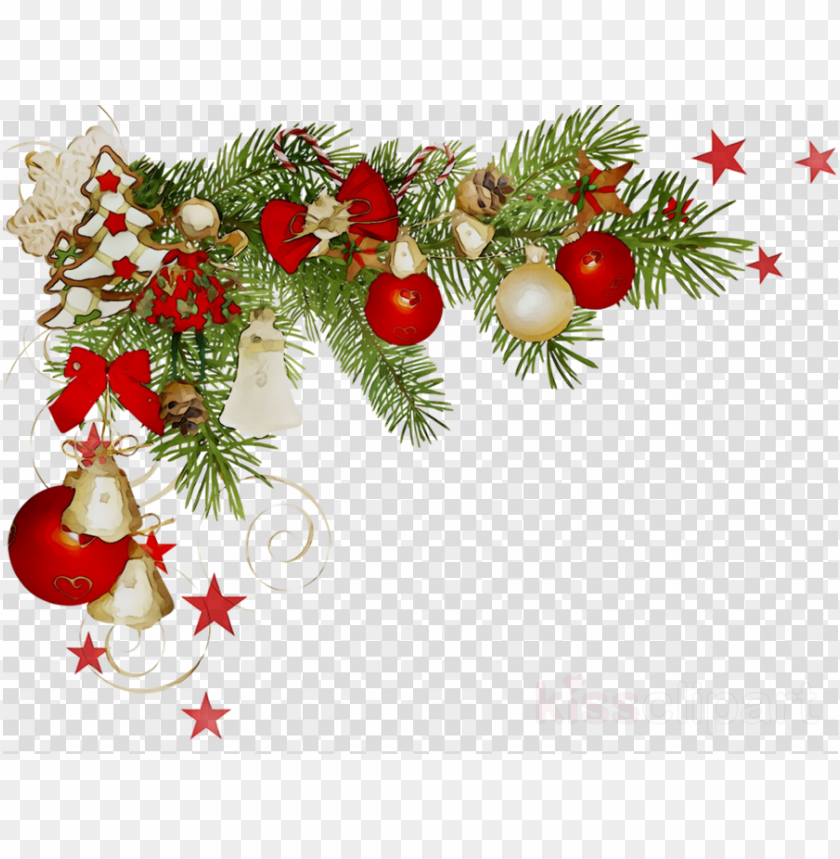 Christmas Corner Border Transparent Clipart Christmas Png Image With Transparent Background Png Free Png Images Christmas Watercolor Christmas Clipart Christmas Graphics