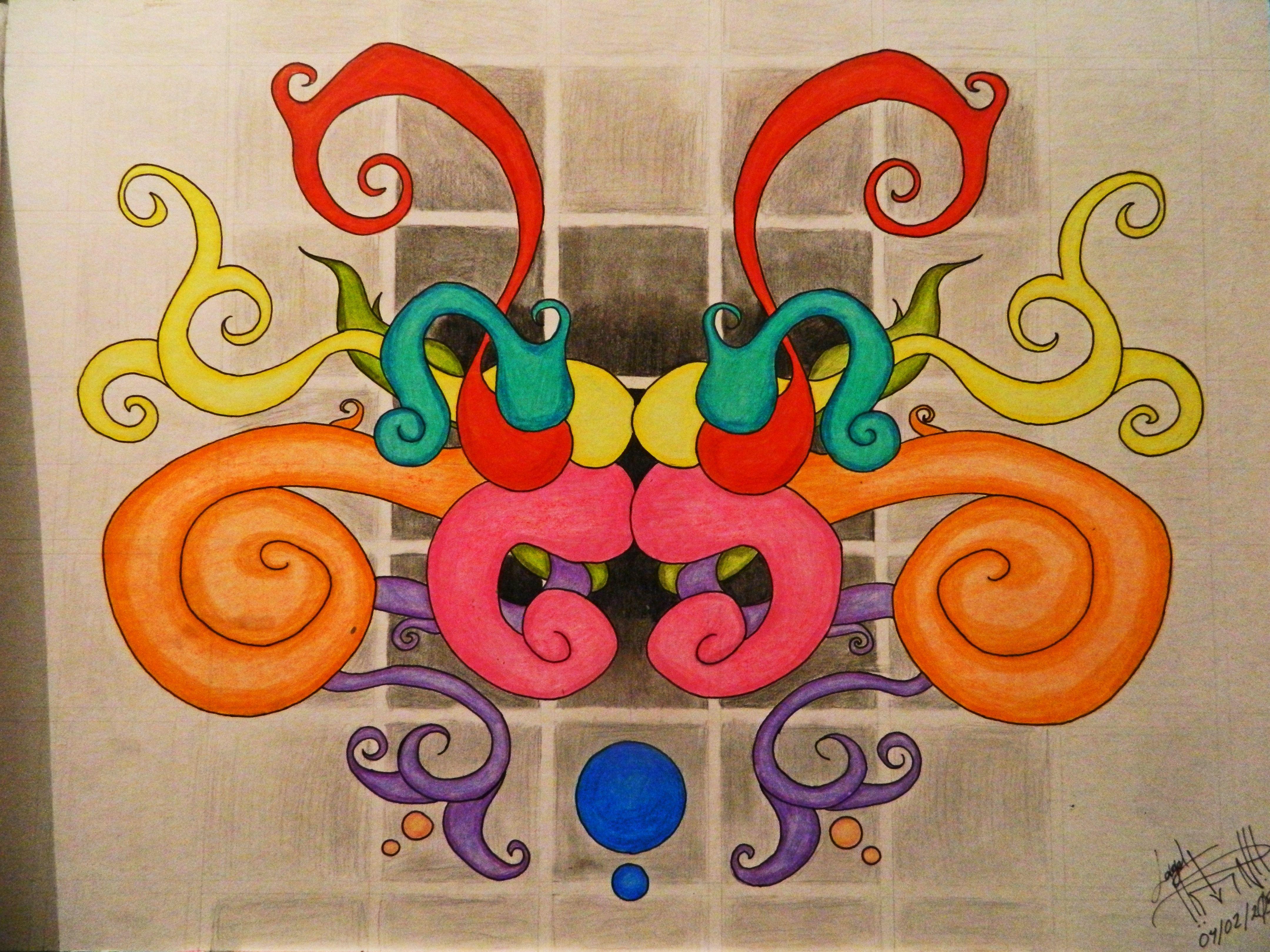 El Primer dibujo abstracto