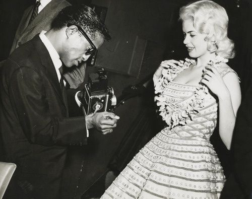 Sammy Davis Jr. Photography | Jayne Mansfield posing for Sammy Davis Jr. Photo by Osvaldo Salas c ...