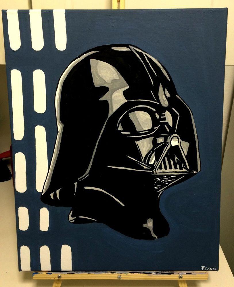 starwars canvas print starwars canvas darth vader canvas star darth vader helmet stylized star wars pop original pop art painting