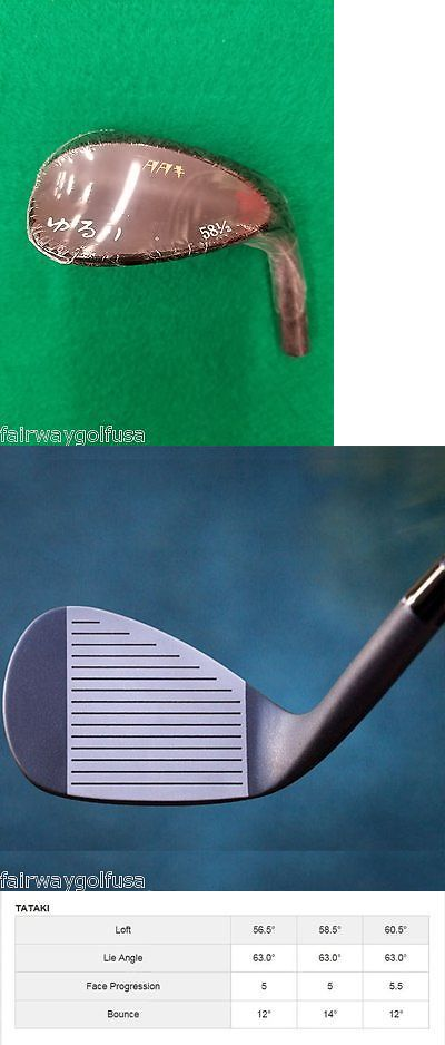 Golf Club Heads 47325: Yururi Raw Tataki 58.5/14* - Right Hand Wedge - Approx. 304G - Head Only BUY IT NOW ONLY: $99.0